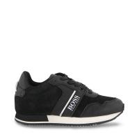 Afbeelding van Boss J29262 kindersneakers zwart