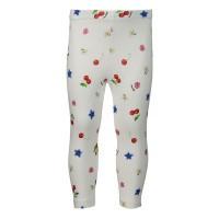 Afbeelding van MonnaLisa 315414 baby legging wit/rood