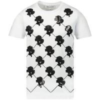 Afbeelding van Reinders TBS19G481D kinder t-shirt wit/zwart