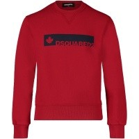 Picture of Dsquared2 DQ02VV kids sweater red