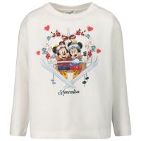 Afbeelding van MonnaLisa 116623P4 kinder t-shirt off white