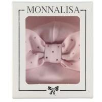 Afbeelding van MonnaLisa 372CAP babymutsje licht roze