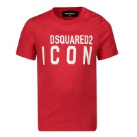 Afbeelding van Dsquared2 DQ04F1 baby t-shirt rood