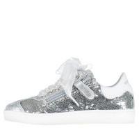 Afbeelding van MonnaLisa 873016 kindersneakers zilver
