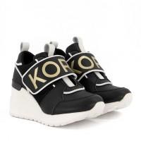 Afbeelding van Michael Kors ZIA NEO DEBO kindersneakers zwart