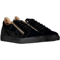 Picture of Guiseppe Zanotti SBI8702 kids sneakers navy