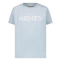 Afbeelding van Kenzo K05044 baby t-shirt licht blauw