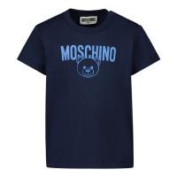 Afbeelding van Moschino MZM02A baby t-shirt navy