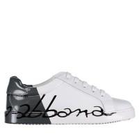 Afbeelding van Dolce & Gabbana DA0608 AI053 kindersneakers wit
