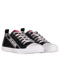 Afbeelding van Moschino JA15013 dames sneakers zwart