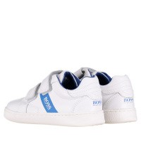 Afbeelding van Boss J09E02 kindersneakers wit