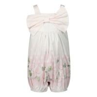 Afbeelding van MonnaLisa 315200 baby jumpsuit licht roze