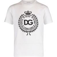 Afbeelding van Dolce & Gabbana L4JT7N G7RIF kinder t-shirt wit