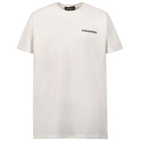 Afbeelding van Dsquared2 DQ0624 kinder t-shirt wit