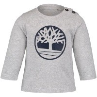 Afbeelding van Timberland T05Z01 baby t-shirt grijs