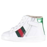 Afbeelding van Gucci 526166 kindersneakers wit
