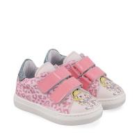 Afbeelding van MonnaLisa 836020 kindersneakers licht roze