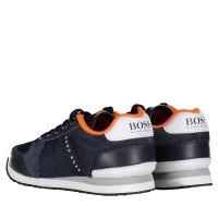 Afbeelding van Boss J29168 kindersneakers navy
