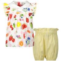 Afbeelding van MonnaLisa 315502 babysetje geel/roze