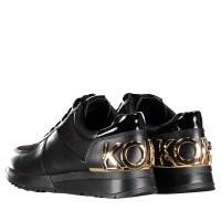 Afbeelding van Michael Kors 43R9ALFS5L dames sneakers zwart