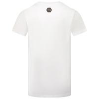 Afbeelding van Philipp Plein BTK1119 kinder t-shirt wit