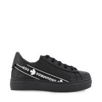 Afbeelding van Dsquared2 65136 kindersneakers zwart