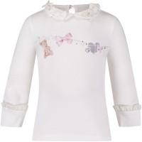Afbeelding van Lapin 82E2457 baby t-shirt off white