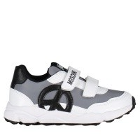 Afbeelding van Moschino 26270 kindersneakers wit