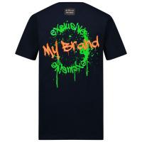Afbeelding van My Brand 3X21001A0018 kinder t-shirt navy