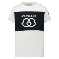 Afbeelding van Moncler 8C71820 baby t-shirt wit