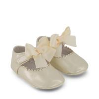 Afbeelding van Mayoral 9455 babyschoenen off white