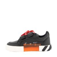 Afbeelding van Off-White LEA0011001 kindersneakers zwart/wit