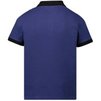 Afbeelding van Moncler 8312205 kinder polo blauw