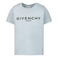 Afbeelding van Givenchy H05M16 baby t-shirt licht blauw