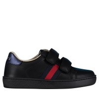 Afbeelding van Gucci 455447 CPWP0 kindersneakers zwart