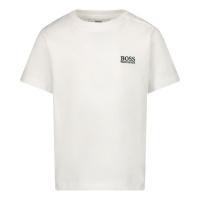 Afbeelding van Boss J05P01 baby t-shirt wit