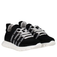 Picture of Dsquared2 59827 kids sneakers black