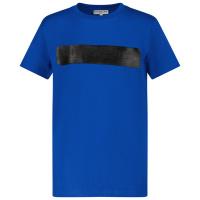 Afbeelding van Givenchy H25283 kinder t-shirt cobalt blauw