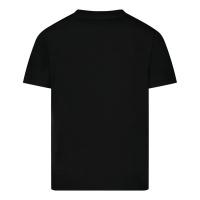 Afbeelding van Dsquared2 DQ0168 baby t-shirt zwart