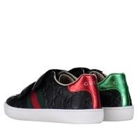 Afbeelding van Gucci 455448 DF720 kindersneakers zwart
