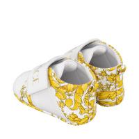 Afbeelding van Versace 1000368 babysneakers wit/goud