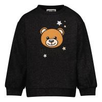 Afbeelding van Moschino MDF02B baby trui zwart