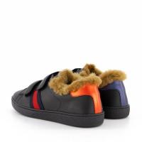 Afbeelding van Gucci 526161 kindersneakers zwart