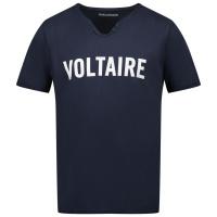 Afbeelding van Zadig & Voltaire X25259 kinder t-shirt navy