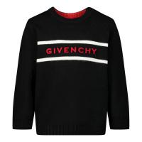 Afbeelding van Givenchy H05137 baby trui zwart