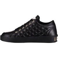 Afbeelding van Guess FLGN3LEA12 dames sneakers zwart