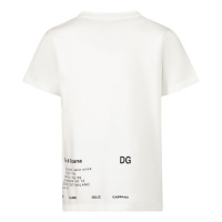 Afbeelding van Dolce & Gabbana L1JTDS G7A8G baby t-shirt off white