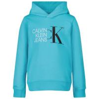 Afbeelding van Calvin Klein IB0IB00799 kindertrui turquoise