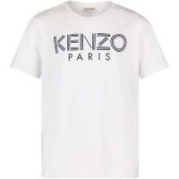 Afbeelding van Kenzo KM10508 kinder t-shirt wit