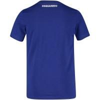 Afbeelding van Dsquared2 DQ038T kinder t-shirt cobalt blauw